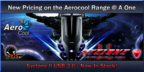New Pricing on the Aerocool Range @ A One! Login to see the New Pricing