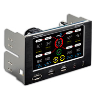 Aerocool Touch 2000 LCD Touch Screen 4 Fan Controller E-Sata/USB 2 x 5.25
