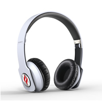 Noontec Zoro White Professional Headphones - Click below for large images