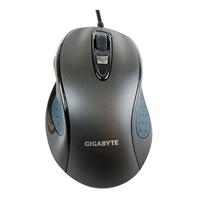 Gigabyte GM-M6800 Dual Lens Contoured Adv Gaming Mouse - Click below for large images