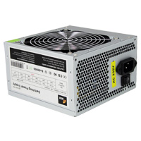 ACE 400W Grey PSU 12cm Fan SATA 24-Pin Model 400W - Click below for large images