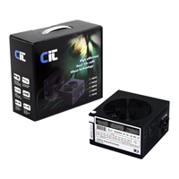 CiT 550W Black Edition PSU 12cm Dual 12v CE PFC Model 550UB - Click below for large images
