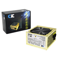 CiT 650W Gold Edition PSU 12cm Dual 12v 24-Pin Model 650U - Click below for large images