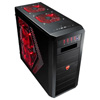View more info on Aerocool RS-9 Devil Red Gaming Case Screwless Red Interior Red LED Fans...