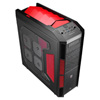View more info on Aerocool X-Predator Devil Red Full Tower Gaming Case No PSU USB3 Red LED Fans...