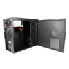CiT Shade Micro ATX Black Interior Mesh Case 500W 12cm Black PSU - Alternative image
