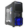 View more info on CiT Neptune Gaming Case 12CM Blue LED Fan Side Window Blue Screwless Bays...