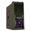 View more info on CiT Vantage Gaming Case Gunmetal Grey 4 x Fans 3 x Purple LED Card Reader No PSU...