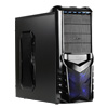 View more info on CiT Vantage LTE Gaming Case Black HD Audio Black Interior 1 x LED Fan Brown Box...
