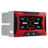 View more info on Aerocool Strike-X Panel Touch Screen 5 Fan Controller 2 x USB...