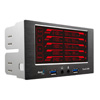 View more info on Aerocool Touch 2100 LCD Touch Screen 5 Fan Controller 2 x USB3.0...