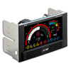View more info on Aerocool V12XT LCD Large Touch Screen Fan Controller 2 x 5.25