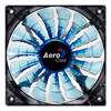 View more info on Aerocool Shark 12cm Quad Blue LED Fan 15 Blade Fluid Dynamic Bearing 12.6dBA...
