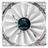 View more info on Aerocool Shark 12cm Quad White LED Fan 15 Blade Fluid Dynamic Bearing 12.6dBA...