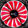 View more info on Aerocool Shark 14cm Quad Red LED Fan 15 Blade Fluid Dynamic Bearing 14.5dBA...
