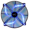 Aerocool Silent Master 20cm Quad Blue LED Sleeve Bearing Fan 18dBA - Alternative image
