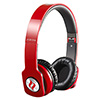 View more info on Noontec Zoro HD Red Professional Headphones 40mm HD Drivers Cable Mic...
