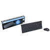 View more info on CiT KBMS-003W Wireless Keyboard & Mouse Combo Black Retail with Nano Receiver...